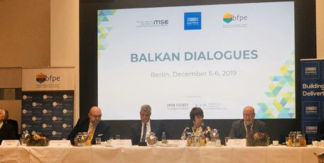 CIG PRESIDENT MODERATES A PANEL ON KOSOVO-SERBIA RELATIONS IN BERLIN